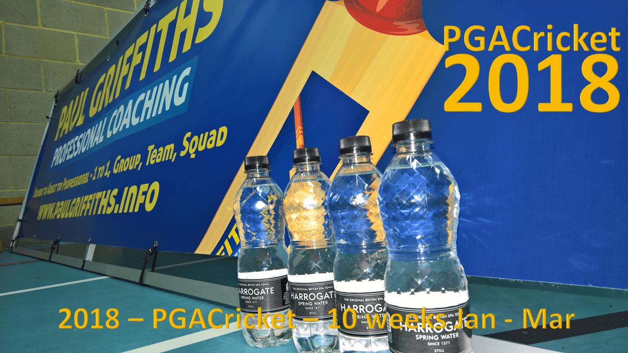 PG Academy Cricket – 2018