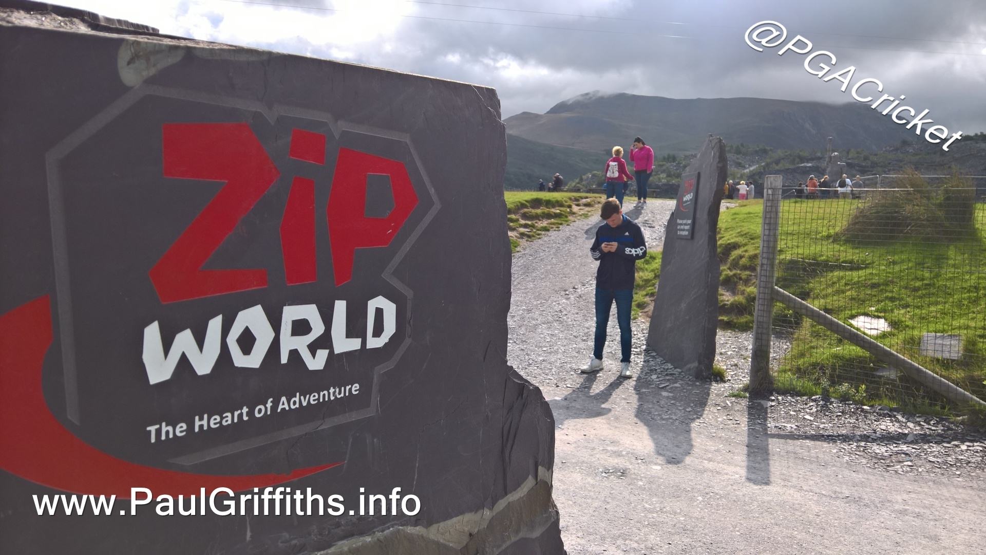 World\'s Fastest Zip Wire - Paul Griffiths